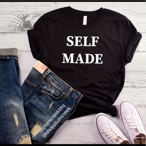 Inspiration Statement Tees - Self Made - NWT NEW